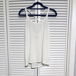3 for $10 / Mossimo White Flowy + Strappy Tank, XS